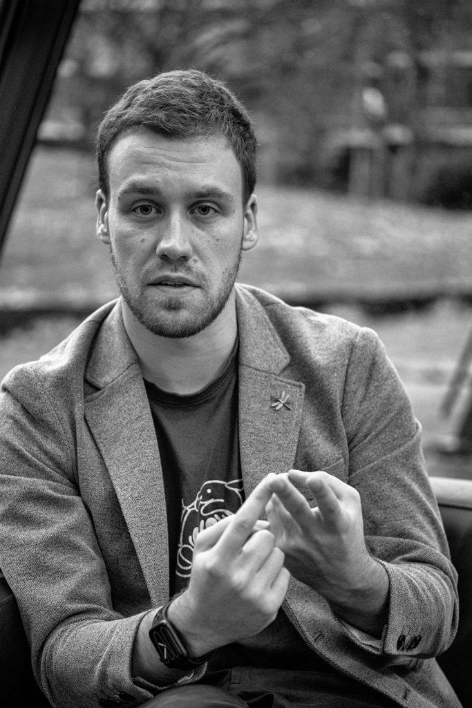Portrait - Simon Kraft